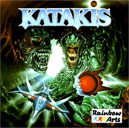 Box cover for Katakis on the Commodore Amiga.
