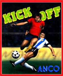Box cover for Kick Off on the Commodore Amiga.