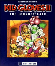 Box cover for Kid Gloves II: The Journey Back on the Commodore Amiga.