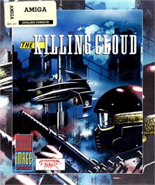 Box cover for Killing Cloud on the Commodore Amiga.