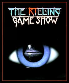 Box cover for Killing Game Show on the Commodore Amiga.