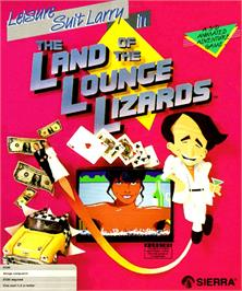 Box cover for Leisure Suit Larry: Triple Pack on the Commodore Amiga.