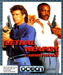 Box cover for Lethal Weapon on the Commodore Amiga.