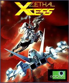 Box cover for Lethal Xcess: Wings of Death 2 on the Commodore Amiga.