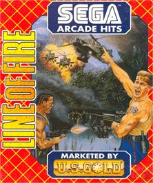 Box cover for Line of Fire / Bakudan Yarou on the Commodore Amiga.