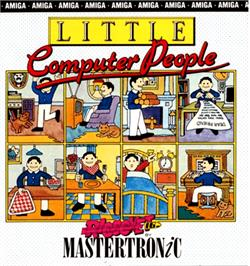 Box cover for Little Computer People on the Commodore Amiga.