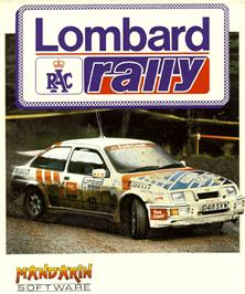 Box cover for Lombard RAC Rally on the Commodore Amiga.