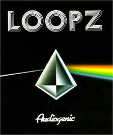 Box cover for Loopz on the Commodore Amiga.