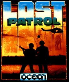 Box cover for Lost Patrol on the Commodore Amiga.