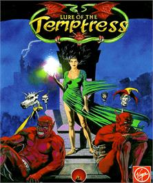Box cover for Lure of the Temptress on the Commodore Amiga.