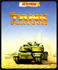 Box cover for M1 Tank Platoon on the Commodore Amiga.