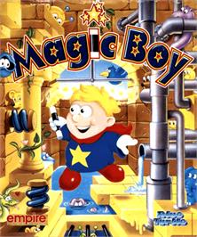 Box cover for Magic Boy on the Commodore Amiga.