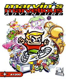 Box cover for Marvin's Marvellous Adventure on the Commodore Amiga.