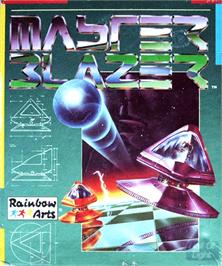 Box cover for Master Blazer on the Commodore Amiga.