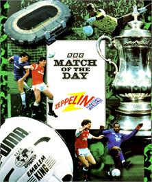 Box cover for Match of the Day on the Commodore Amiga.