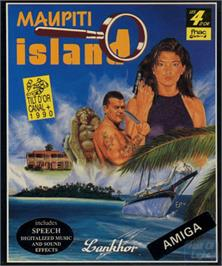Box cover for Maupiti Island on the Commodore Amiga.