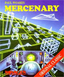 Box cover for Mercenary: Escape From Targ with the Second City on the Commodore Amiga.