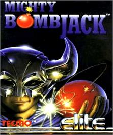 Box cover for Mighty Bombjack on the Commodore Amiga.
