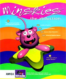 Box cover for Minskies: The Abduction on the Commodore Amiga.