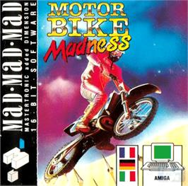 Box cover for Motorbike Madness on the Commodore Amiga.
