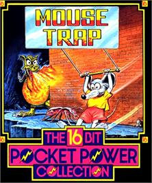 Box cover for Mouse Trap on the Commodore Amiga.