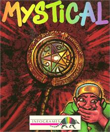 Box cover for Mystical on the Commodore Amiga.