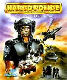 Box cover for Narco Police on the Commodore Amiga.