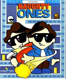 Box cover for Naughty Ones on the Commodore Amiga.