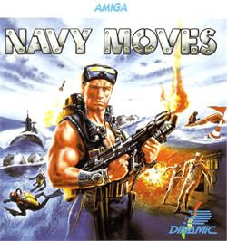 Box cover for Navy Moves on the Commodore Amiga.