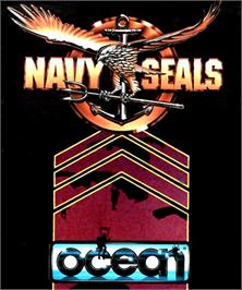 Box cover for Navy Seals on the Commodore Amiga.
