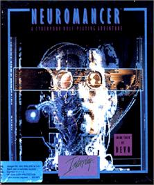 Box cover for Neuromancer on the Commodore Amiga.