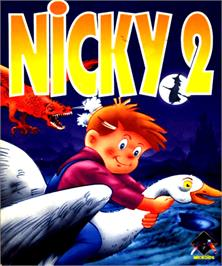 Box cover for Nicky 2 on the Commodore Amiga.