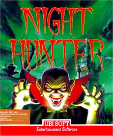 Box cover for Night Hunter on the Commodore Amiga.
