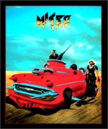 Box cover for Nitro on the Commodore Amiga.