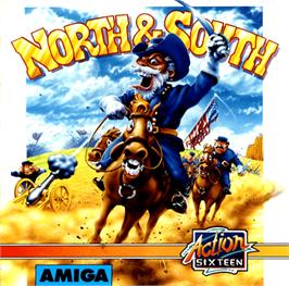 Box cover for North & South on the Commodore Amiga.