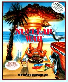 Box cover for Nuclear War on the Commodore Amiga.
