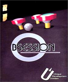 Box cover for Obsession on the Commodore Amiga.