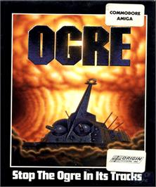 Box cover for Ogre on the Commodore Amiga.