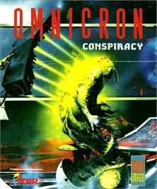 Box cover for Omnicron Conspiracy on the Commodore Amiga.