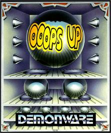 Box cover for Ooops Up on the Commodore Amiga.