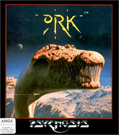Box cover for Ork on the Commodore Amiga.