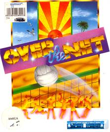 Box cover for Over the Net on the Commodore Amiga.