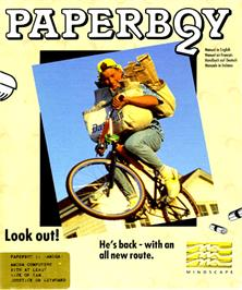 Box cover for Paperboy 2 on the Commodore Amiga.