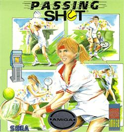 Box cover for Passing Shot on the Commodore Amiga.