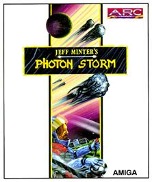 Box cover for Photon Storm on the Commodore Amiga.