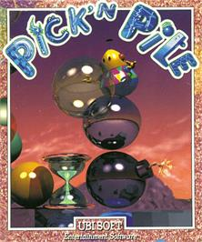 Box cover for Pick 'n' Pile on the Commodore Amiga.