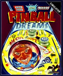 Box cover for Pinball Dreams on the Commodore Amiga.