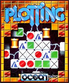 Box cover for Plotting on the Commodore Amiga.