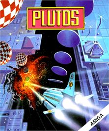 Box cover for Plutos on the Commodore Amiga.