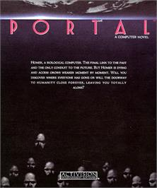 Box cover for Portal on the Commodore Amiga.